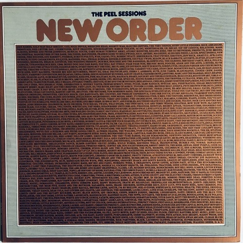 【12inch・英盤】New Order  /  The Peel Sessions (26th January 1981)