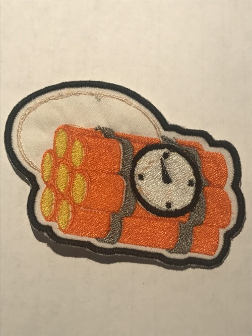"ORIGINAL Patch""Time bomb"""