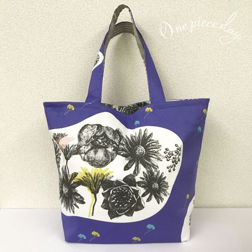tote bag   flower_medley