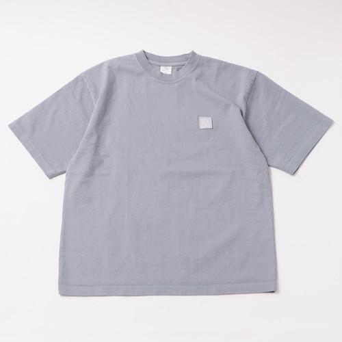 Garment Dye Emblem Tee designed by tomoo gokita / ICELAND BLUE
