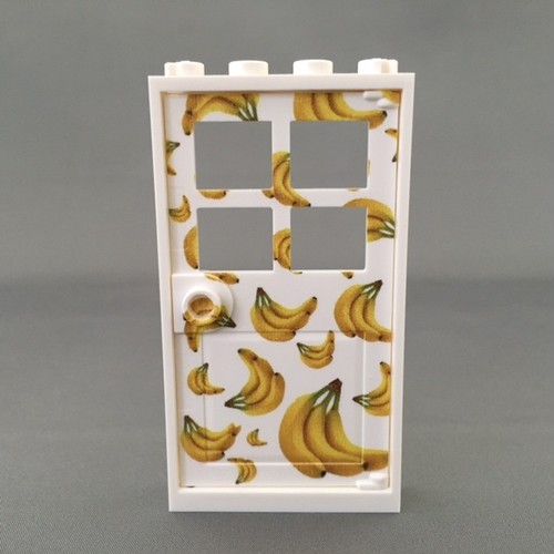 LEGO レゴ バナナのドア(枠+扉)