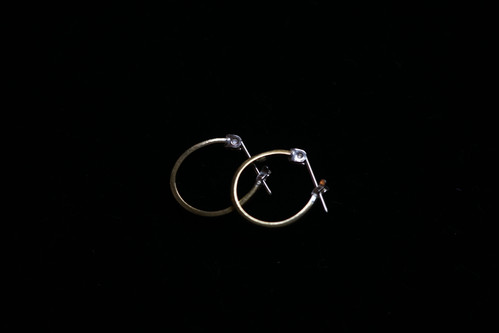 STUDEBAKER METAL / MINI LODGE HOOPS(BRASS)