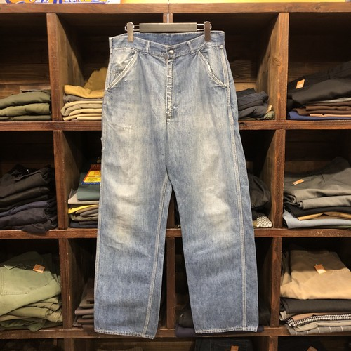 50s HERCULES Denim Painter Pants