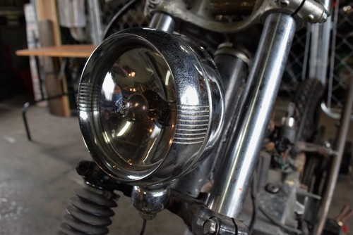 VINTAGE FOG LIGHT 4.5inch