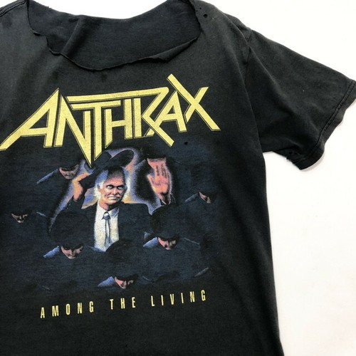 80's ANTHLAX AMONG THE LIVING