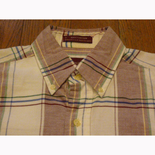 CHAPS-RALPH LAUREN の古着 ボタンダウンシャツ (S)  ★【クリックポスト利用で送料無料】