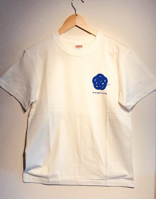 divergent record logo T-shirt