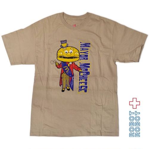 Tシャツ メンズ 新品 TSHIRT NEW McDonalds Mayor McCheese 2008