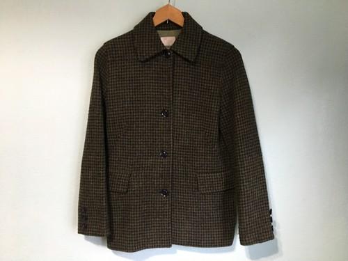 harrstweed ハリスツィード グリーン系 ジャケット 綺麗なシルエット Ray beams レイビームス /ブリティッシュ UK トラディショナル OLD