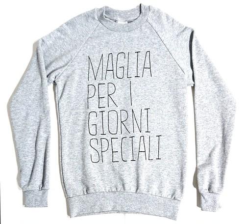 MAGLIA(マリア) スウェット SPECIALI グレー