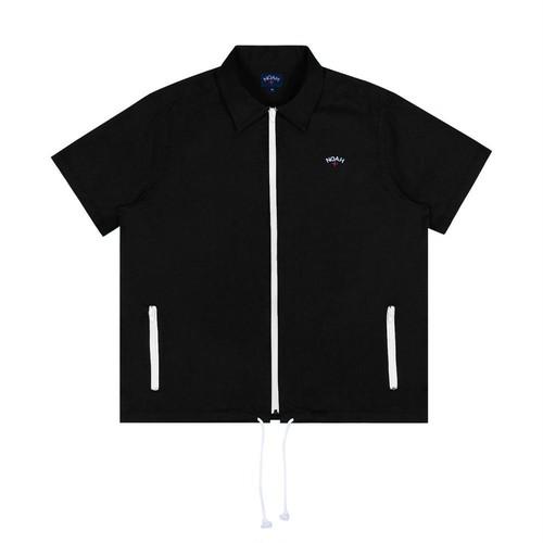 Zip Work Shirt(Black)
