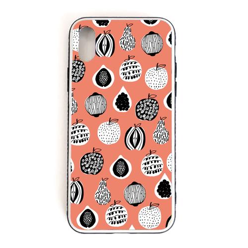 【fruits】 強化ガラス仕上げ phone case (iPhone)