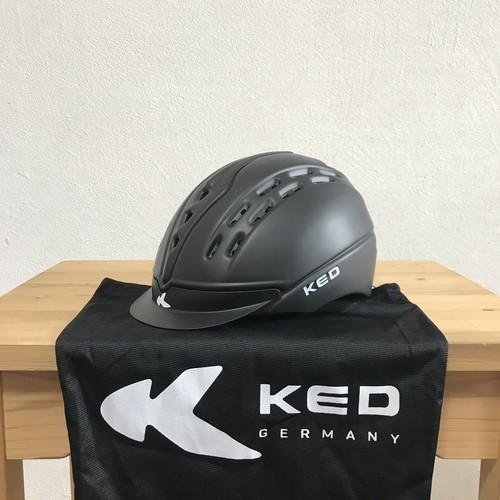 KED Cheeron 乗馬ヘルメット ブラックマット