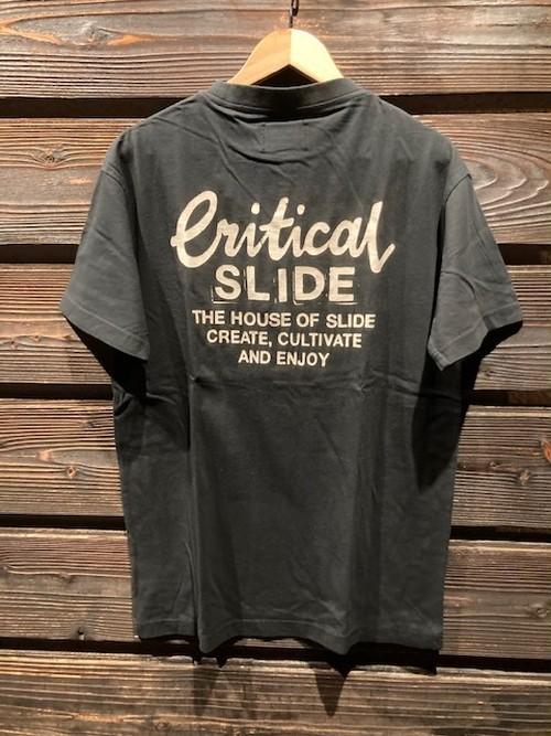 Critical Slide  CREATOR TEE  C.Black  Mサイズ  TE2108