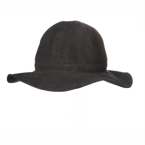 【FILL THE BILL】SHEEP SKIN HAT - BLACK