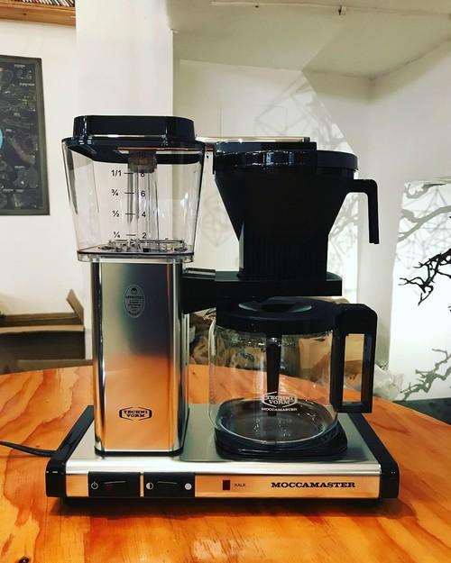 世界最高峰のドリップマシーン【モカマスター】今なら当店オススメコーヒー豆250g付き
