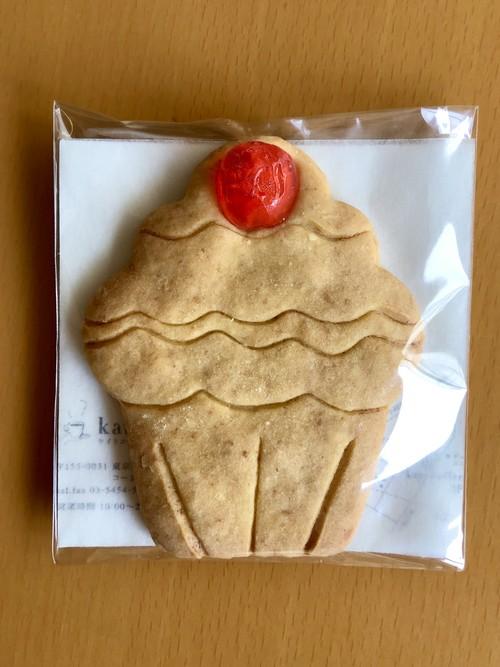 カップケーキ型クッキー(赤)