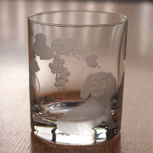 ロックグラス~「ミニチュアダックス」