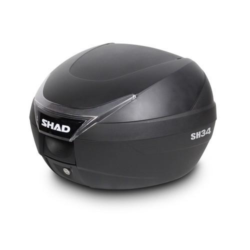 バイク リアボックス ハードケース SHAD SH34 リアボックス 無塗装ブラック