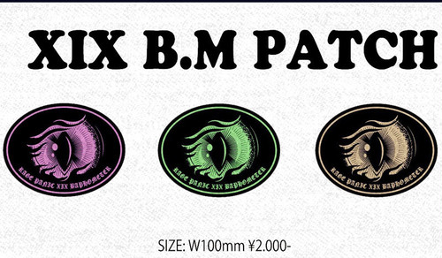 XIX B.M PATCH