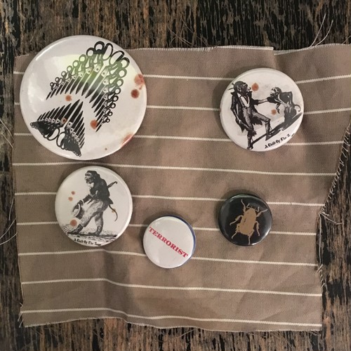A Child of the Jago Can Badge set