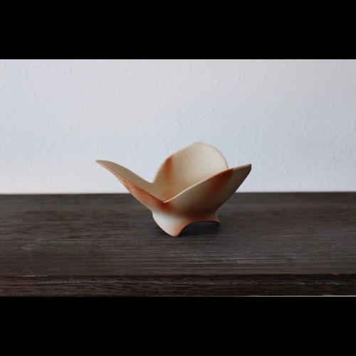 """美しい造形の和モダン 陶芸作家【大江一人】""""割山椒"""" 緋襷"""