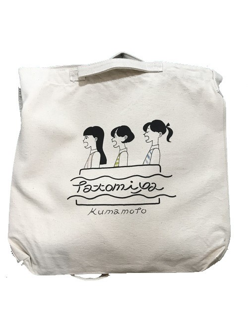 コピー:《たなかみさきオリジナデザイン》TATOMIYAオリジナルトートバッグ《数量限定》