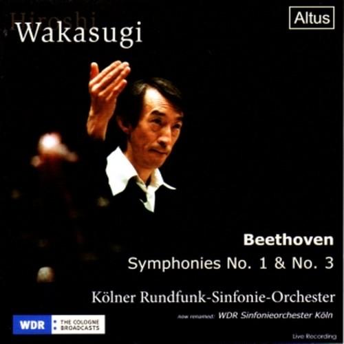 [中古CD] ベートーヴェン:交響曲第1番/第3番「英雄」 若杉弘/ケルン放送交響楽団