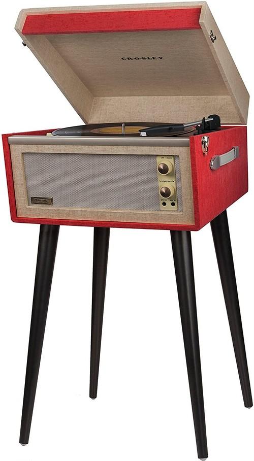 Crosley DANSETTE BERMUDAレコードプレイヤー (Red)