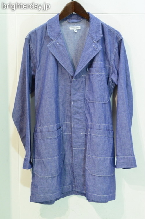 ENGINEERED GARMENTS Shop Coat Dungaree Cloth