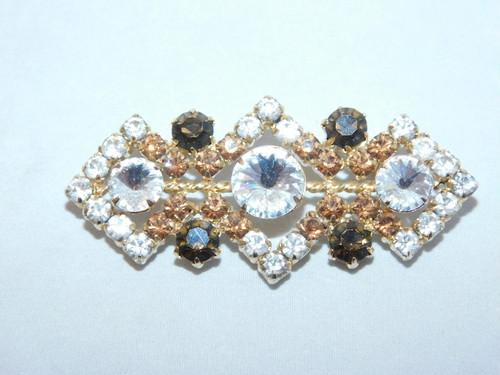 菱形のブローチ(ビンテージ) vintage brooch (lozenge)