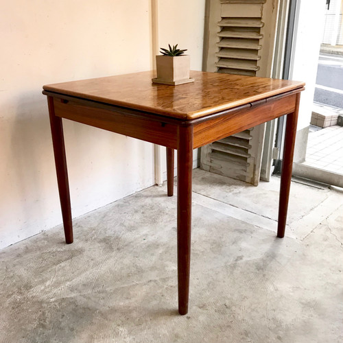 Rosewood Vintage Extension Dining Table 60's オランダ