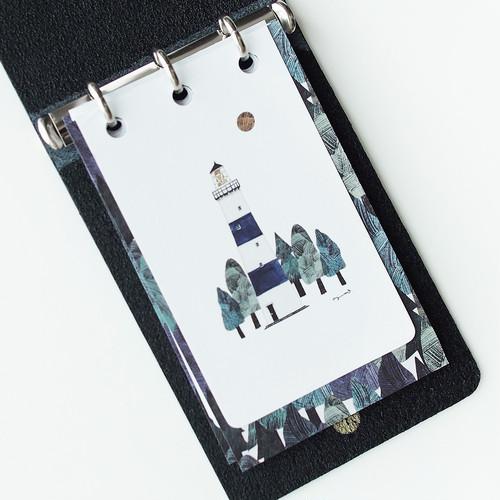 自由に使えるフレークカード・鉛筆とインク【旧ロゴ】