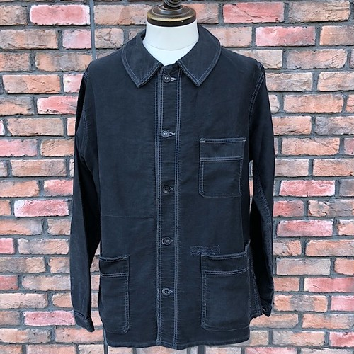1950s French Work Jacket Le Calle Black