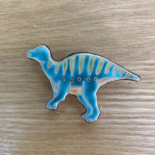 カムイサウルス(帯留・ブローチ)