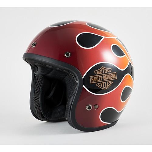 Retro Flame ヘルメット