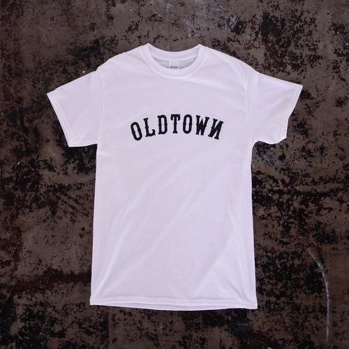 OLD TOWN & UNION SODA コラボTシャツ (ホワイト)