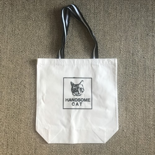 HANDSOME CAT TOTE BAG