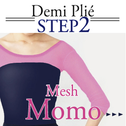 <Step2>Demi Plié sleeve/[ Momo mesh ]  Select body color