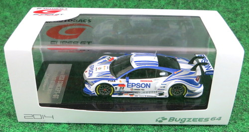 Bugzees 1/64 SUPER GT 2014 エプソン NSX No.32