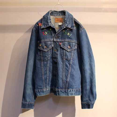 70s Levi's 70505 0217 DENIM JACKET / UT1078