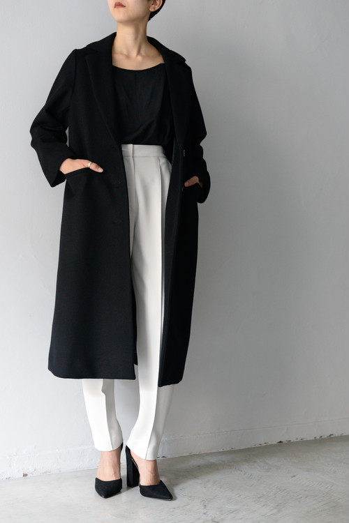 ROOM211 unique / wool coat (black)