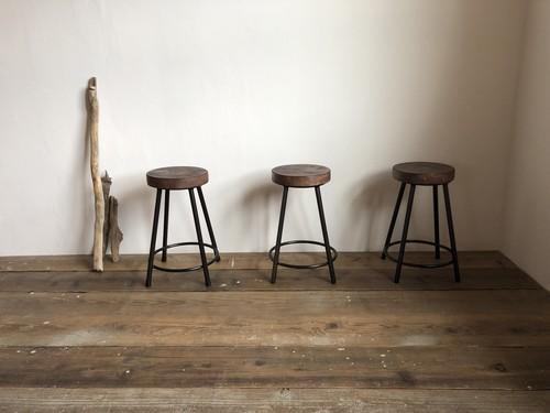数量限定 WS-H450  椅子 イス スツール アイアン カウンターチェアー スツール 花台 オーダーメイド