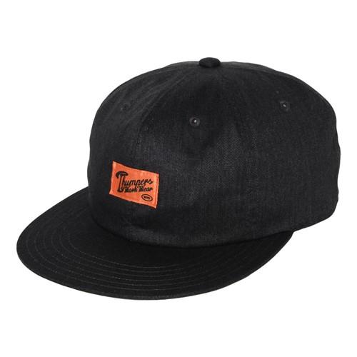 WORK LABEL CAP(BLACK)[TH9S-029]