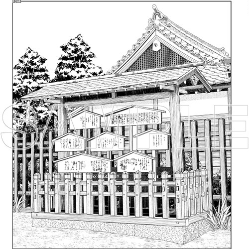 時代劇 高札場-001
