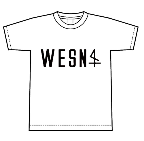 WESN ロゴTシャツ 白