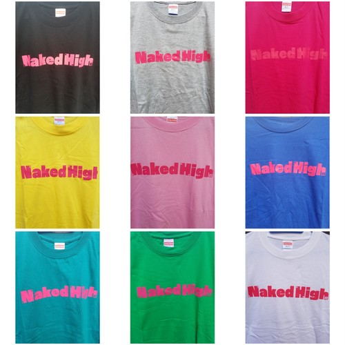 【NewColor】Naked High T-shirt