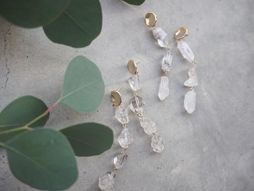 crystal long pierce(B)