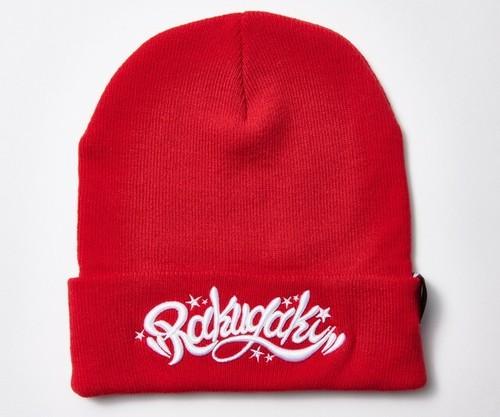 [予約商品]2019 Rakugaki Main Logo Knit Cap Red