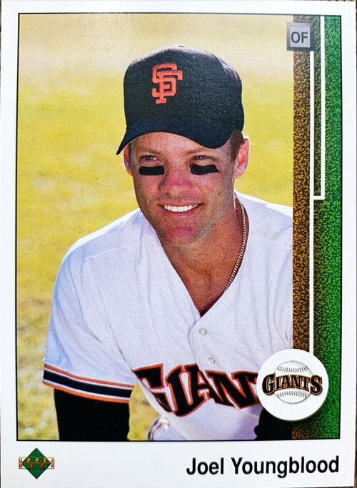 MLBカード 89UPPERDECK Joel Youngblood #458 GIANTS